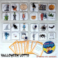 Making Bingo more fun at Halloween! Tips from Looks Like Language!