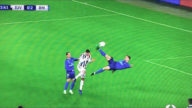Chilena de Ronaldo a la Juve en Italia en la Champions League - Juve 0-3 Real Madrid - Hala Madrid - A por la 13ª - el troblogdita