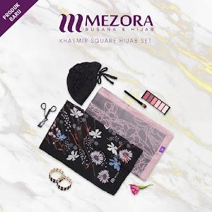 Mezora Kashmir Square Hijab Set