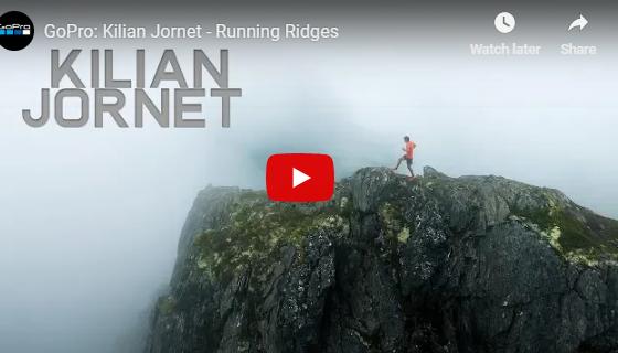 A correr na montanha...
