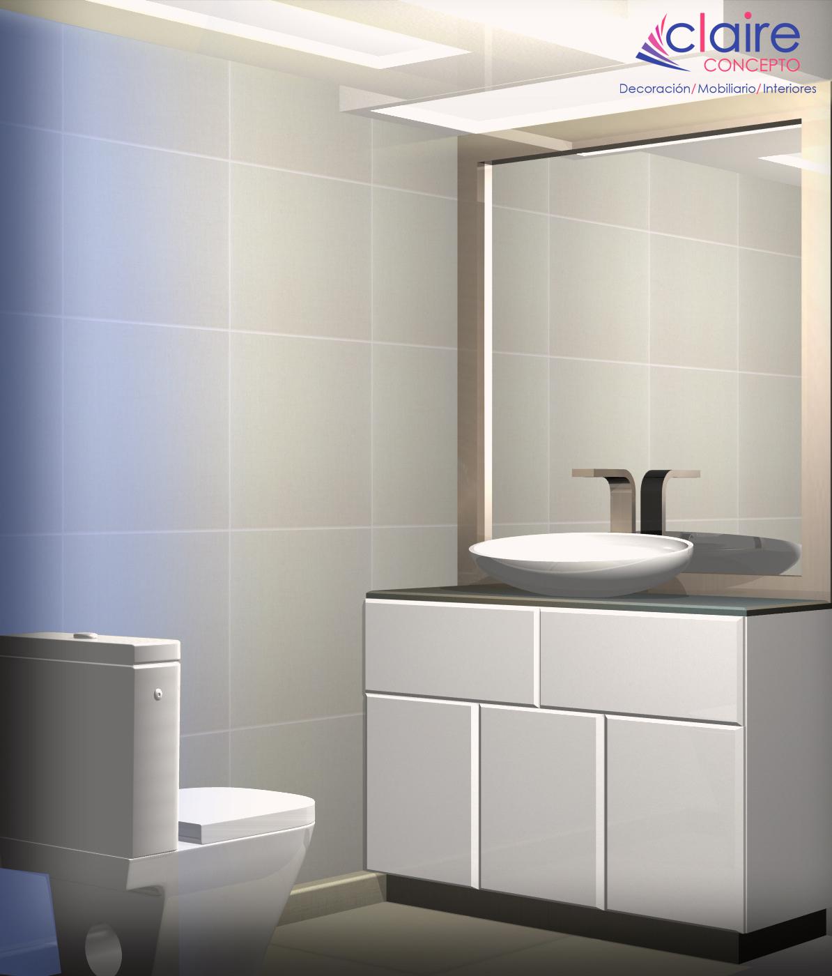 Dise os de ba os modernos y minimalistas azcapotzalco for Diseno de banos con guardas verticales