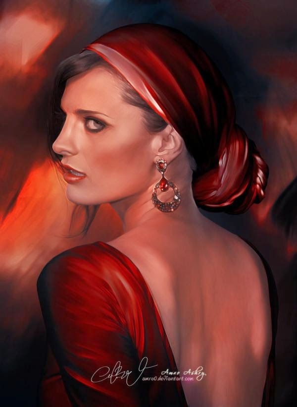 Mind-Blowing Digital Portrait Works by Amro Ashry