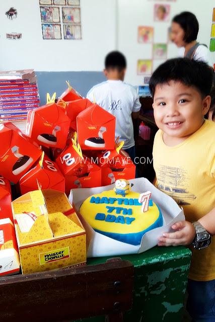 McDonald's, Happy Meal, Chicken McDo, birthday party