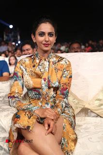 Actress Rakul Preet Singh Stills in Short Dress at Dhruva Pre Release Function  0103.JPG