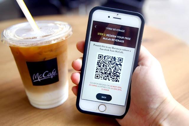 Order món bằng điện thoại với mã QR Code, khách tự order