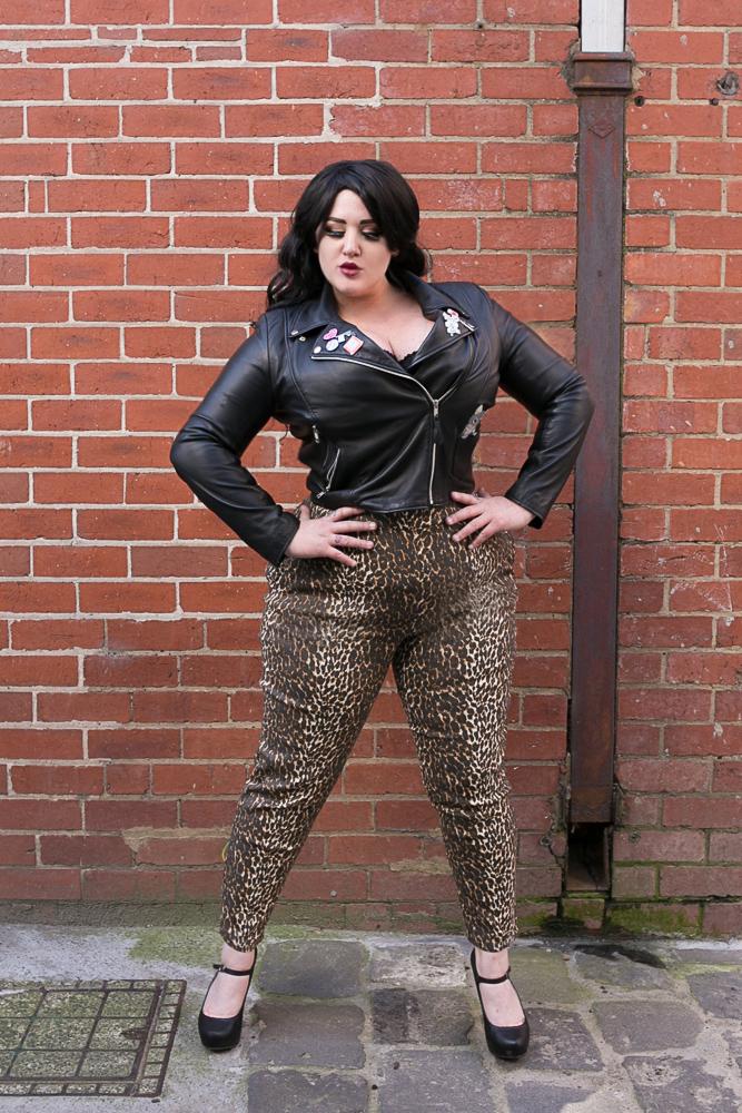 Cigarette Pants in Leopard Print - $132.95 AUD
