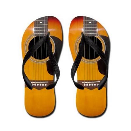 Đôi dép hình Guitar