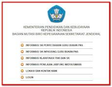 Cara Cek SK Inpassing Dan Penyetaraan Guru Non PNS