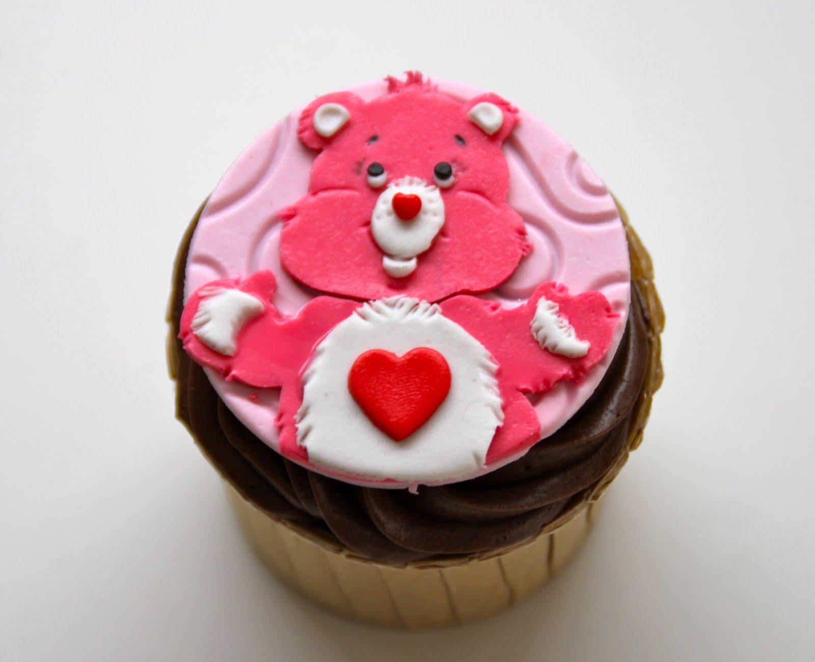 Cartoon Character Cupcakes