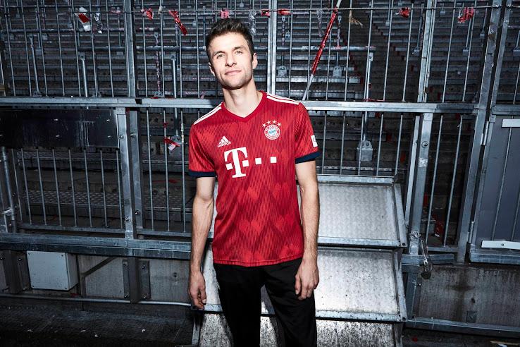 Bayern München 18-19 Home Kit Released - Footy Headlines