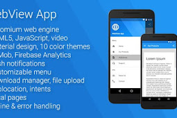 Universal Android WebView App v2.5.0 NULLED