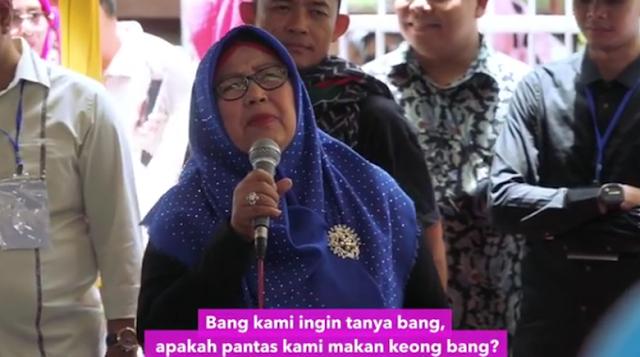 Emak-emak di Video Sandi Bicara Soal Makan Keong dan Foto di Paris
