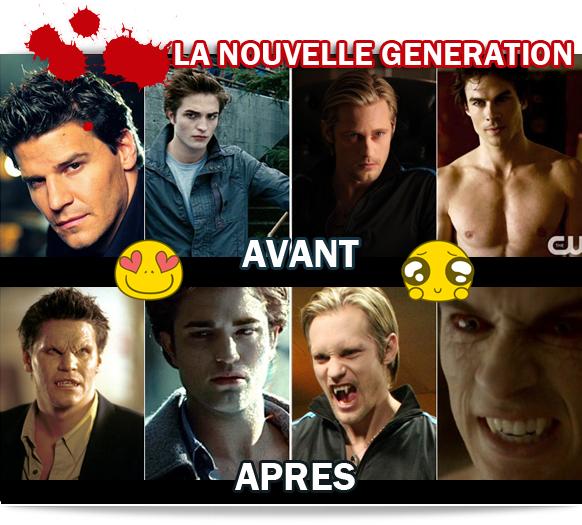 vampires nouvelle generation