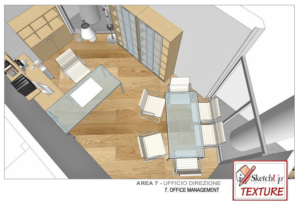 SKETCHUP TEXTURE: HOW TO DESIGN A PUBLIC LBRARY PART #2
