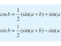 Trigonometri : Rumus Perkalian Sinus dan Kosinus