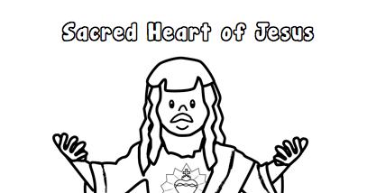 Faith Filled Freebies: Free Sacred Heart of Jesus Printable