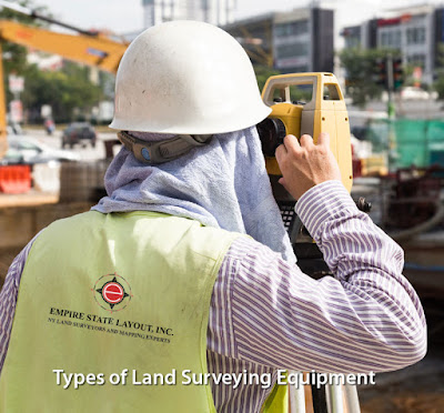Types of Land Surveying Equipment