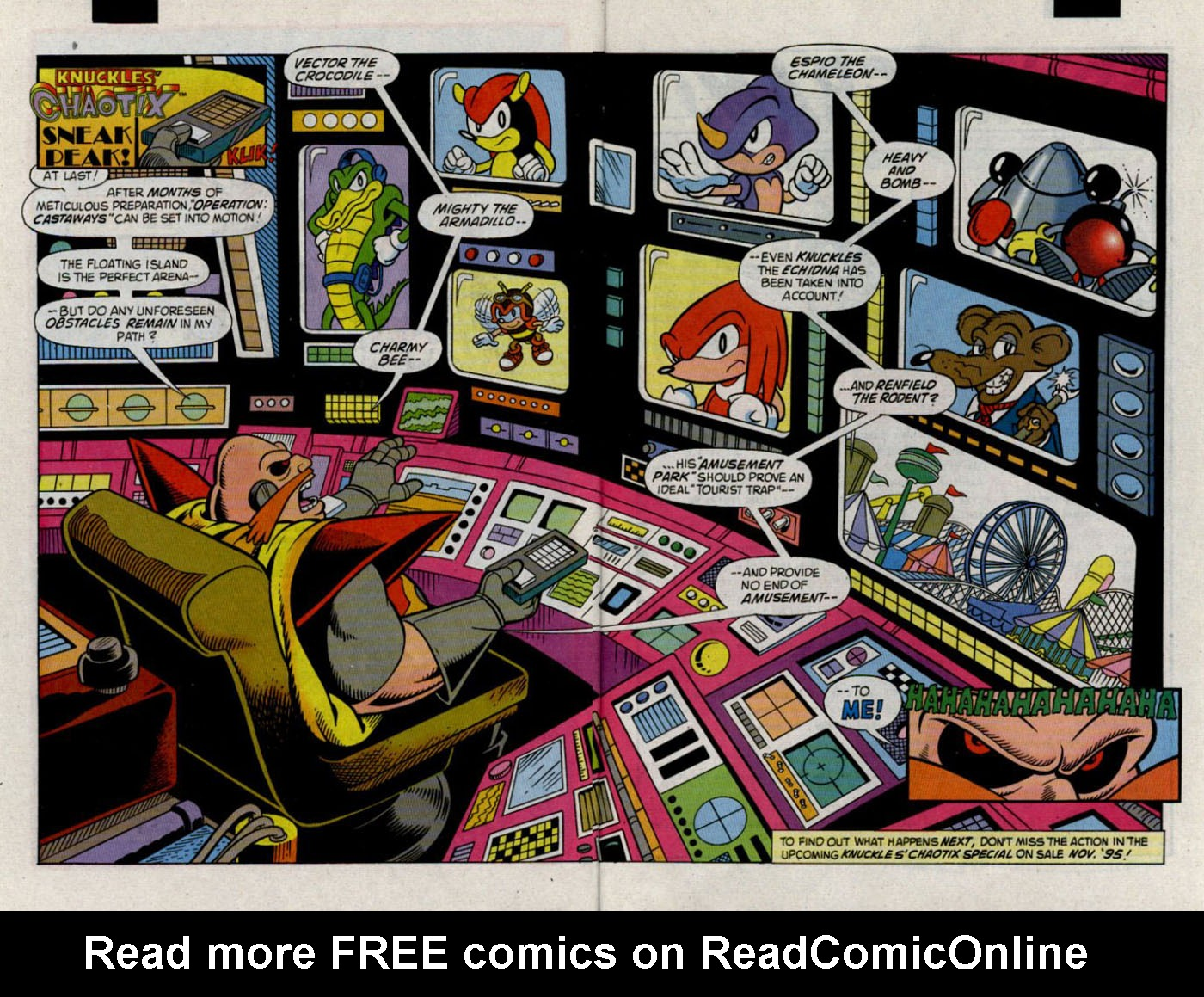 Read online Sonic The Hedgehog comic -  Issue #30 - 25