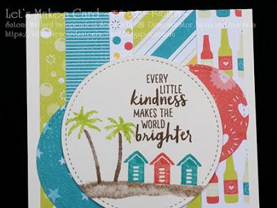 SAB Bubble & Fiz DSP and Waterfront  Satomi Wellard-Independent Stampin'Up! Demonstrator in Japan and Australia, #su, #stampinup, #cardmaking, #papercrafting, #rubberstamping, #stampinuponlineorder, #craftonlinestore, #papercrafting, #handmadegreetingcard, #greetingcards  #sab #2018occasionscatalog, #thankyoucard #waterfront #beach  #スタンピン #スタンピンアップ #スタンピンアップ公認デモンストレーター #ウェラード里美 #手作りカード #スタンプ #カードメーキング #ペーパークラフト #スクラップブッキング #ハンドメイド #オンラインクラス #スタンピンアップオンラインオーダー #スタンピンアップオンラインショップ #動画 #フェイスブックライブワークショップ #ワークオブアート #サンキューカード #バブル&フィズ #セラブレーション #SAB #ウォーターフロント #ビーチ