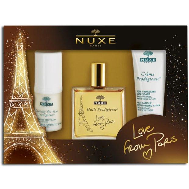 nuxe, olejek nuxe, zestawy swiateczne nuxe,