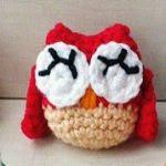 patron gratis buho amigurumi | free amigurumi pattern owl