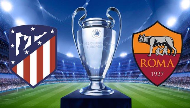 مشاهدة مباراة اتلتيكو مدريد وروما بث مباشر , يلا شوت
