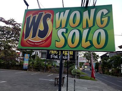 Wong Solo Denpasar, tempat yang pas  untuk ngumpul