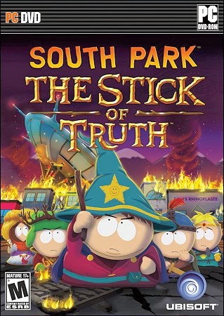 capa - Southpark Stick Of Truth - PC - RELOADED