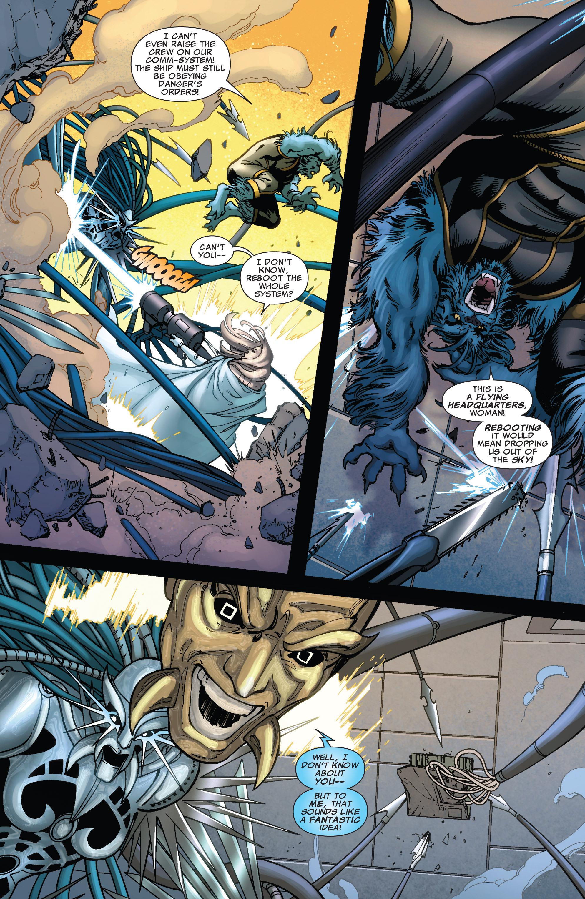 Read online Astonishing X-Men (2004) comic -  Issue #43 - 17