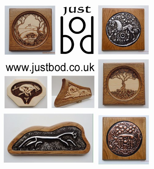 Sculptures carvings and artwork www.justbod.co.uk