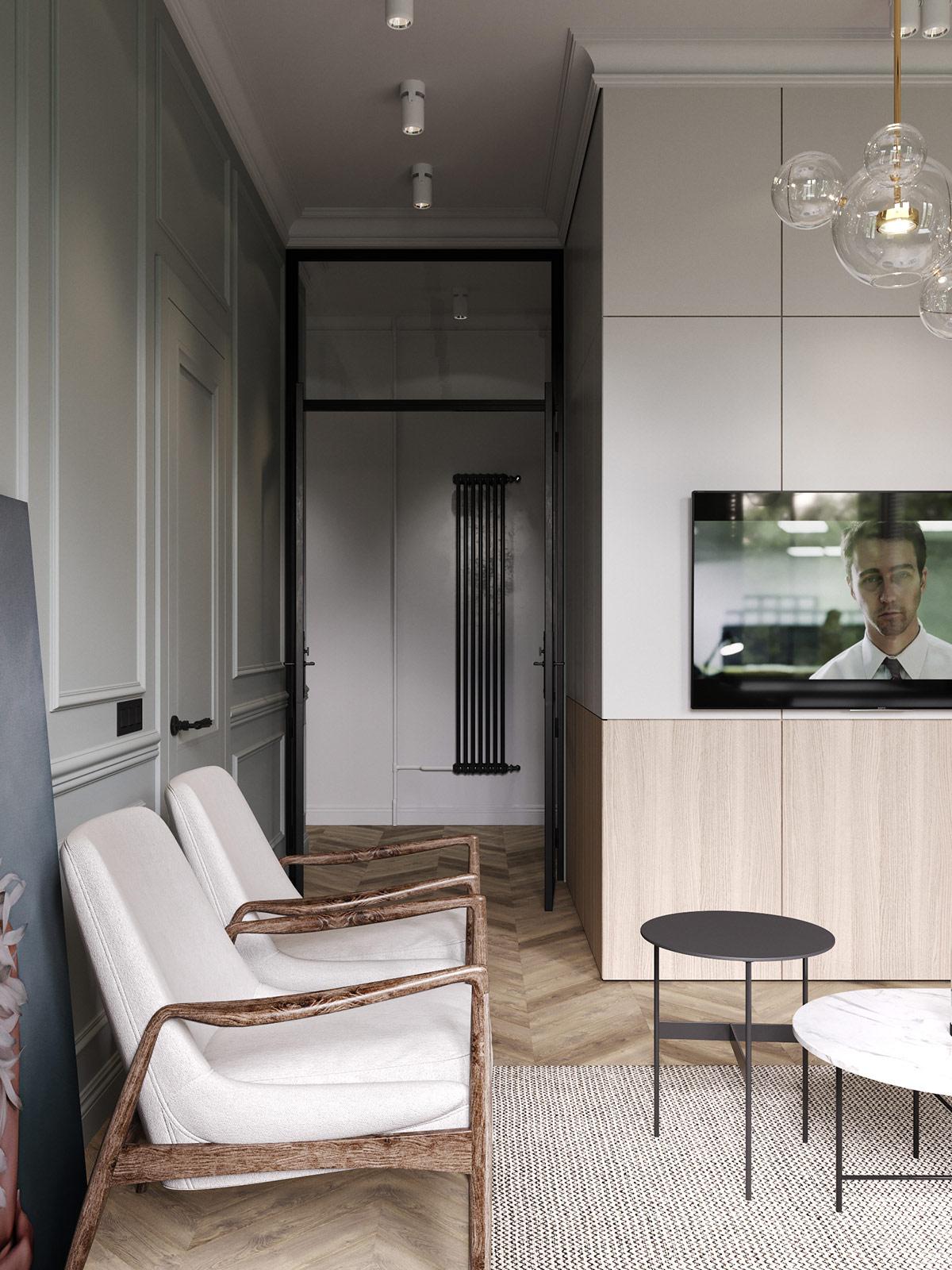 Apartment Interior Under 75 Square Meters (Includes Floor Plan)