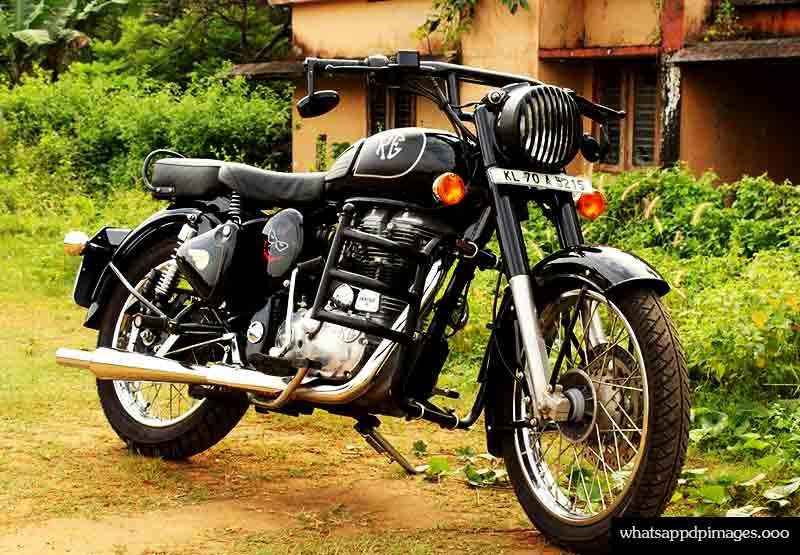 Black bike dp for whatsapp