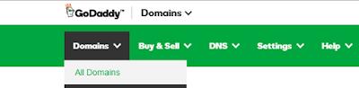 custom domain name for google blogger