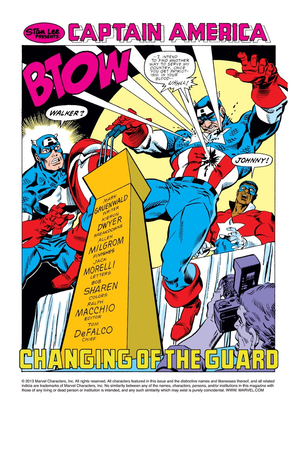 Captain America (1968) Issue #351 #283 - English 3