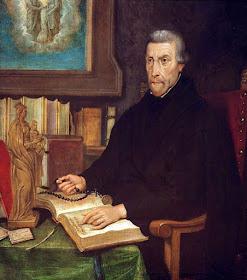 São Pedro Canísio S.J. col priv. O segundo maior apóstolo da fé católica na Alemanha.