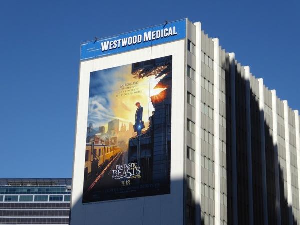 Fantastic Beasts billboard