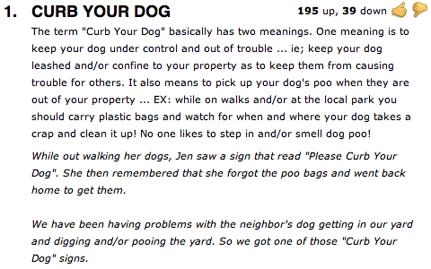 White Curb Meaning >> What Does Curb Your Dog Mean South Loop Dog Park Action