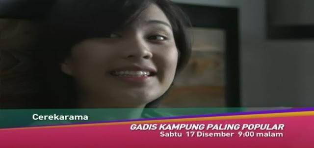 Telemovie Gadis Kampung Paling Popular Lakonan Janna Nick - Cerekarama TV3
