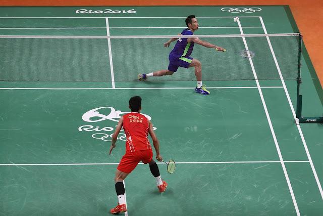 Chen Long Pemain China Kedua Menghampakan Lee Chong Wei di Pentas Olimpik