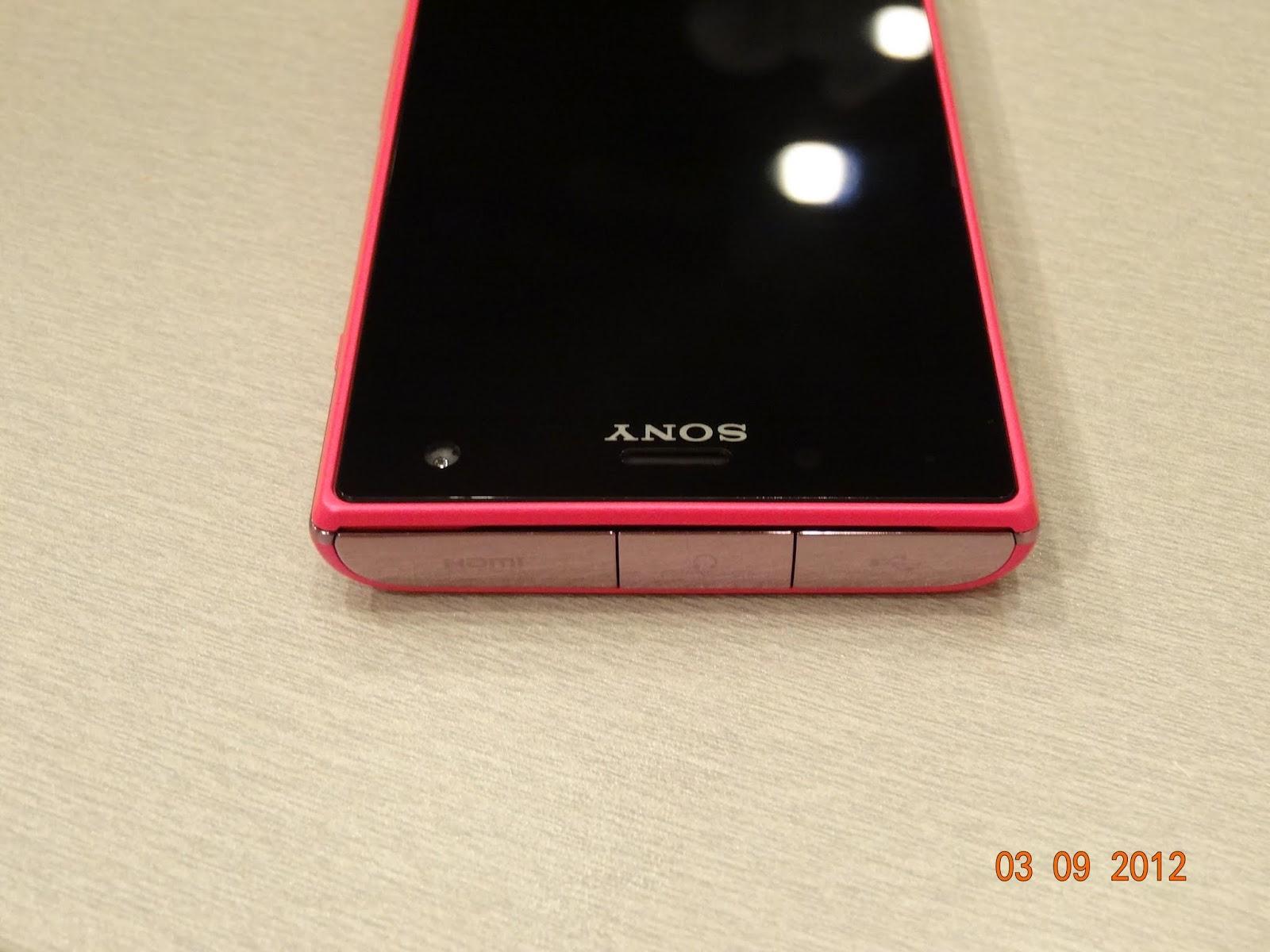 數位及敗家版鮪魚小籠包: [手機]SONY 三防手機 Xperia Acro S 開箱