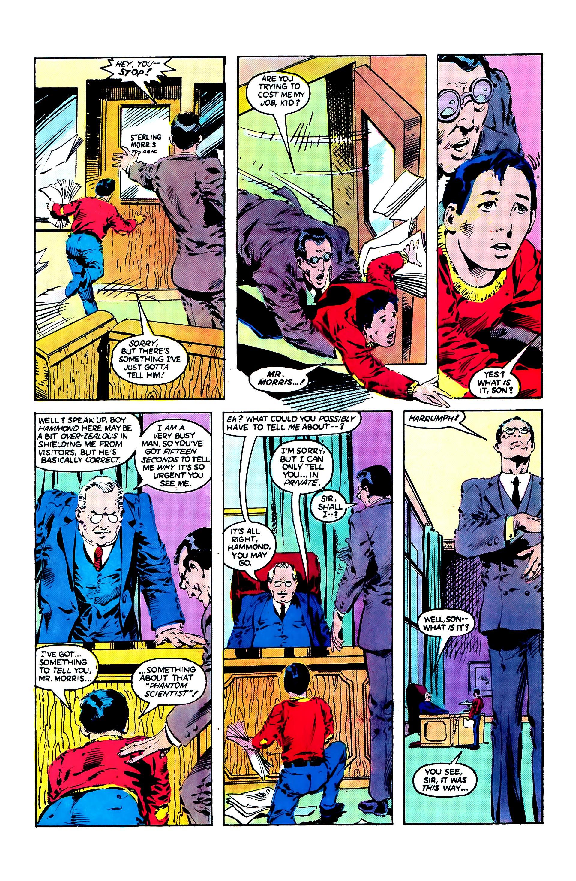 Read online Secret Origins (1986) comic -  Issue #3 - 19