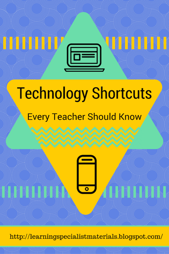 Mac technology shortcuts for students