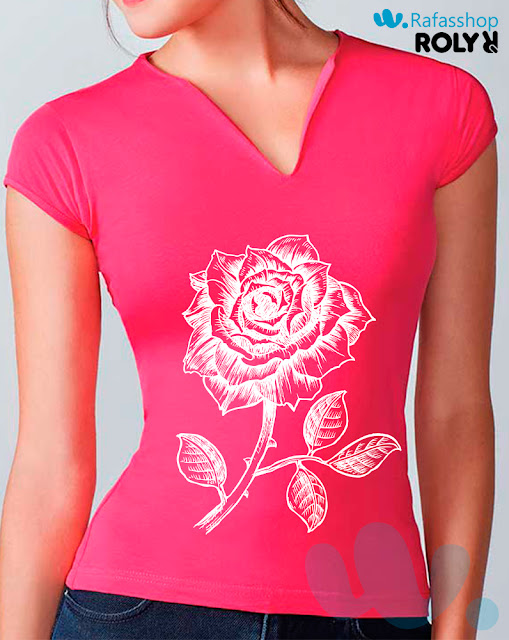 Camiseta Belice 6532 Roly Mujer Manga Corta