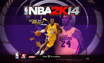 NBA 2k14 Title Screen Patch - Kobe Bryant