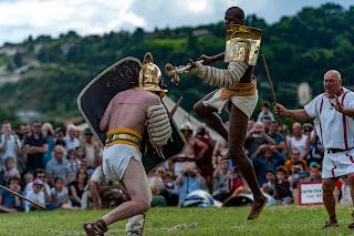 gladiateur secutor rétiaire