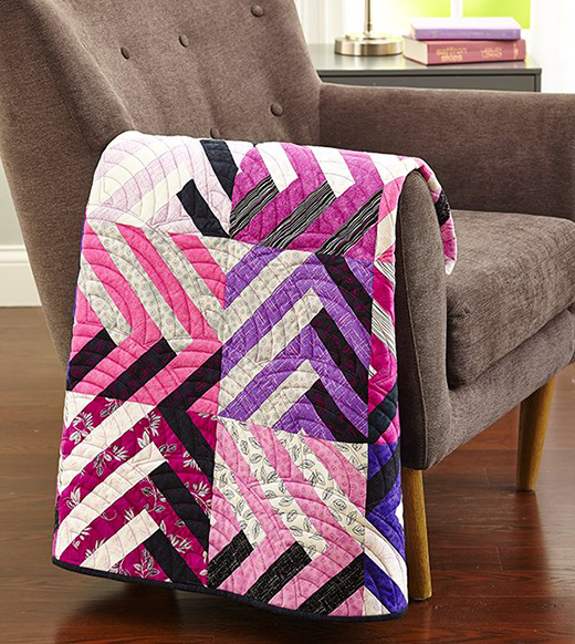 Purple Play Quilt Free Pattern