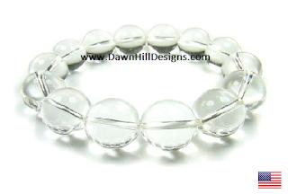 Clear Quartz Crystal Healing Bracelet