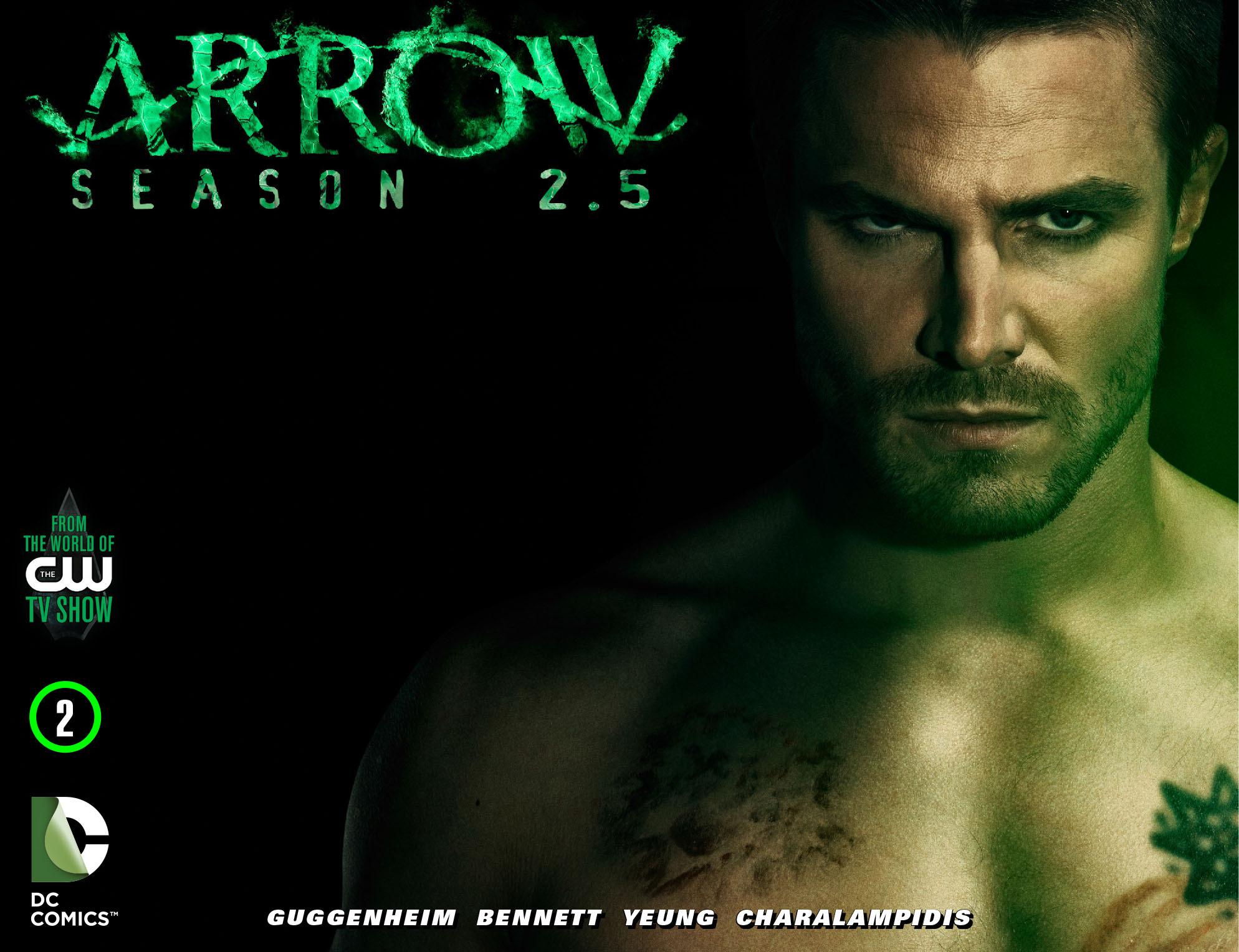 Read online Arrow: Season 2.5 [I] comic -  Issue #2 - 1