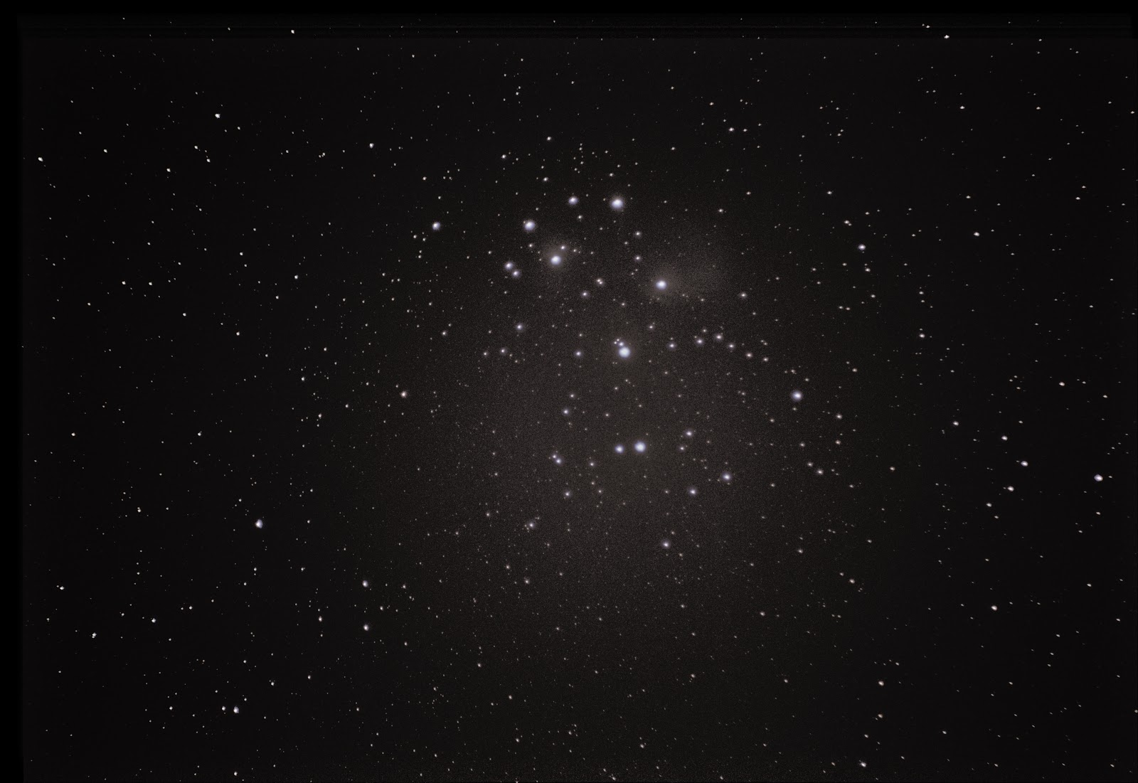 pleiades with canon t5i 300mm