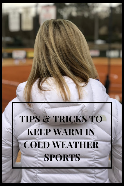 Tips & Tricks on how to stay warm on the sidelines of cold weather sports.